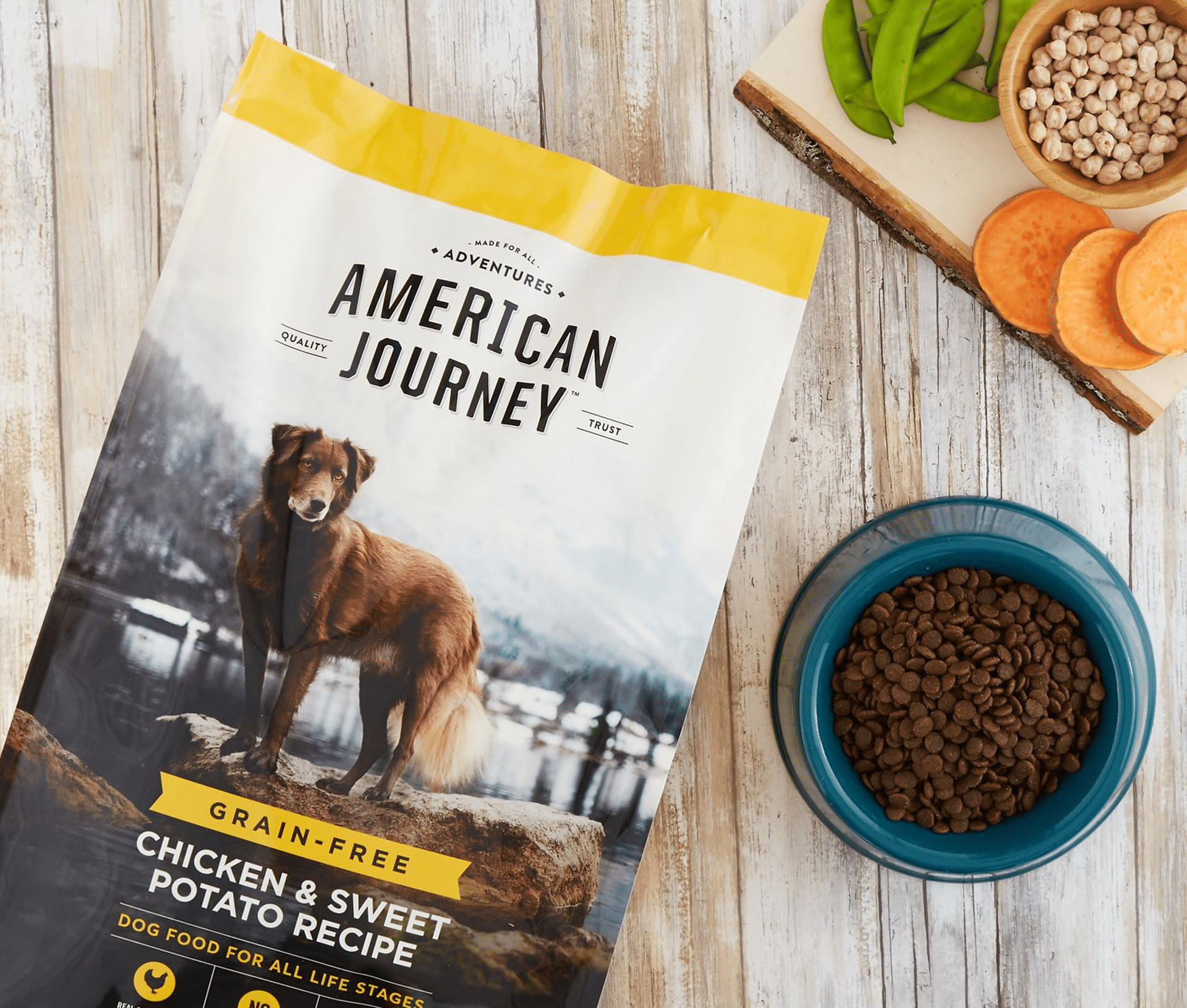 American Journey Chicken & Sweet Potato Recipe Grain-Free Dry Dog Food