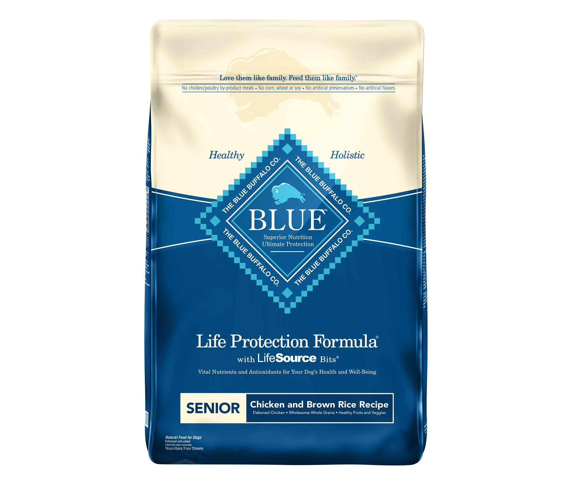 Blue Buffalo Life Protection Formula Senior Chicken & Brown Rice Recipe Dry Dog Food