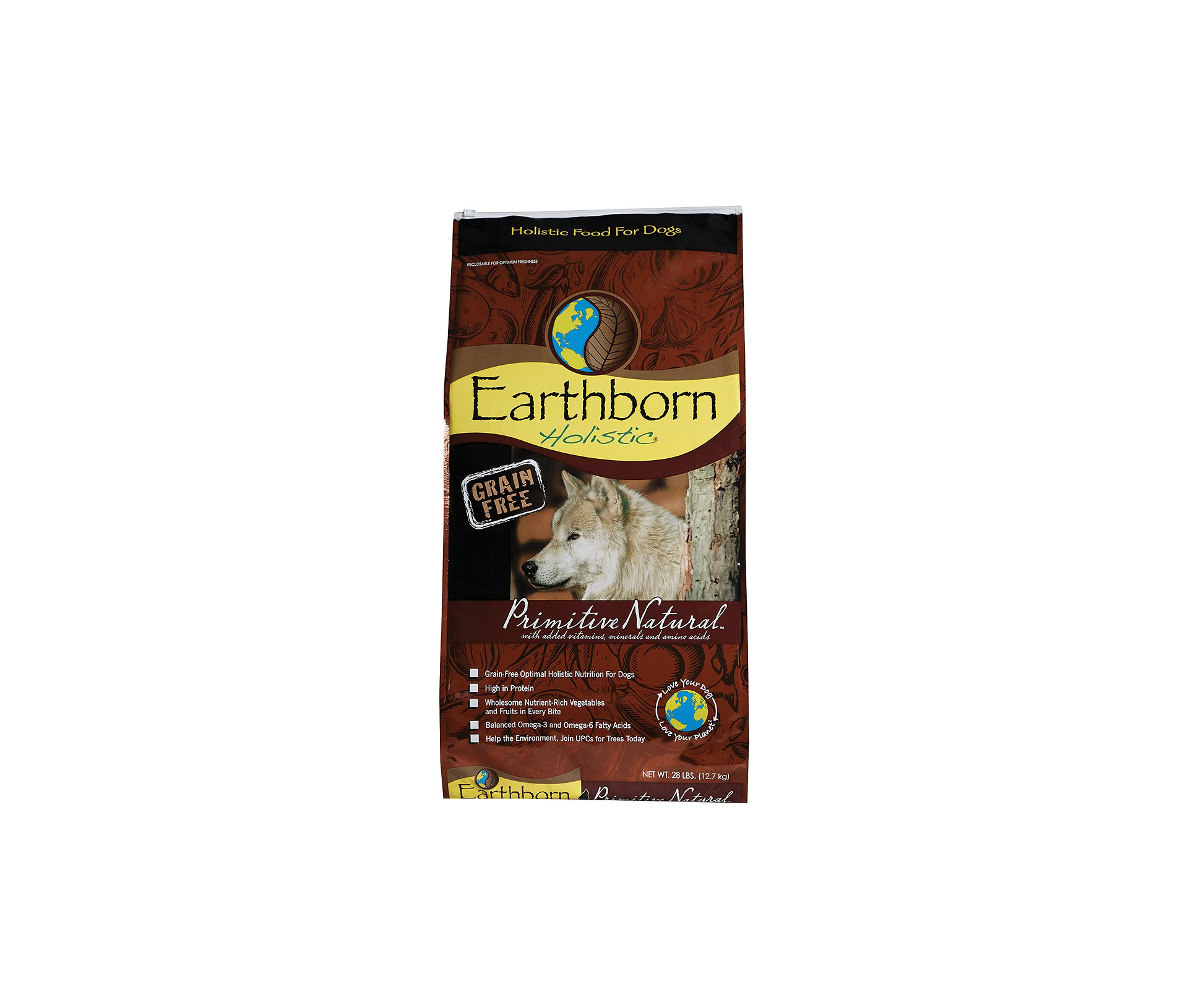 Earthborn Holistic Primitive Natural Grain-Free Natural Food