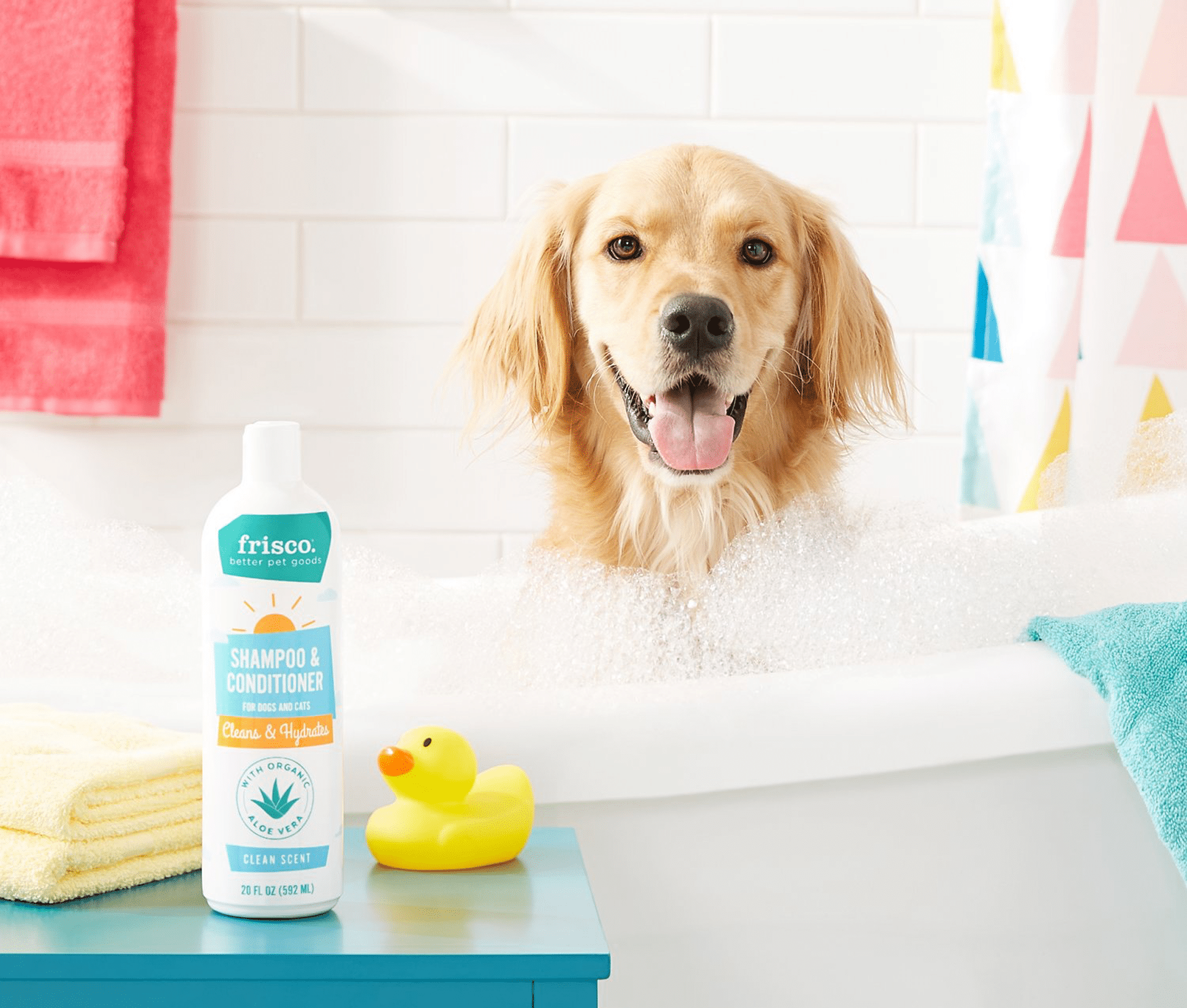 Frisco-2-in-1-Shampoo-&-Conditioner-with-Organic-Aloe-for-Dogs-&-Cats,-Clean-Scent-3