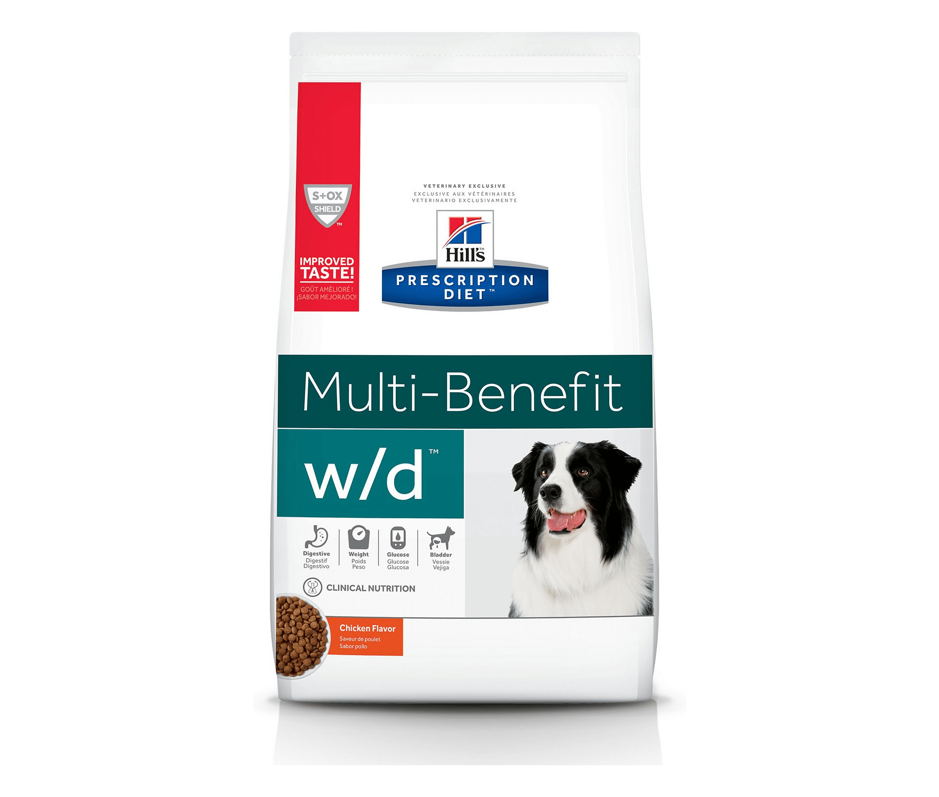 Hill's Prescription Diet w/d Multi-Benefit Chicken Flavor Dry Dog Food