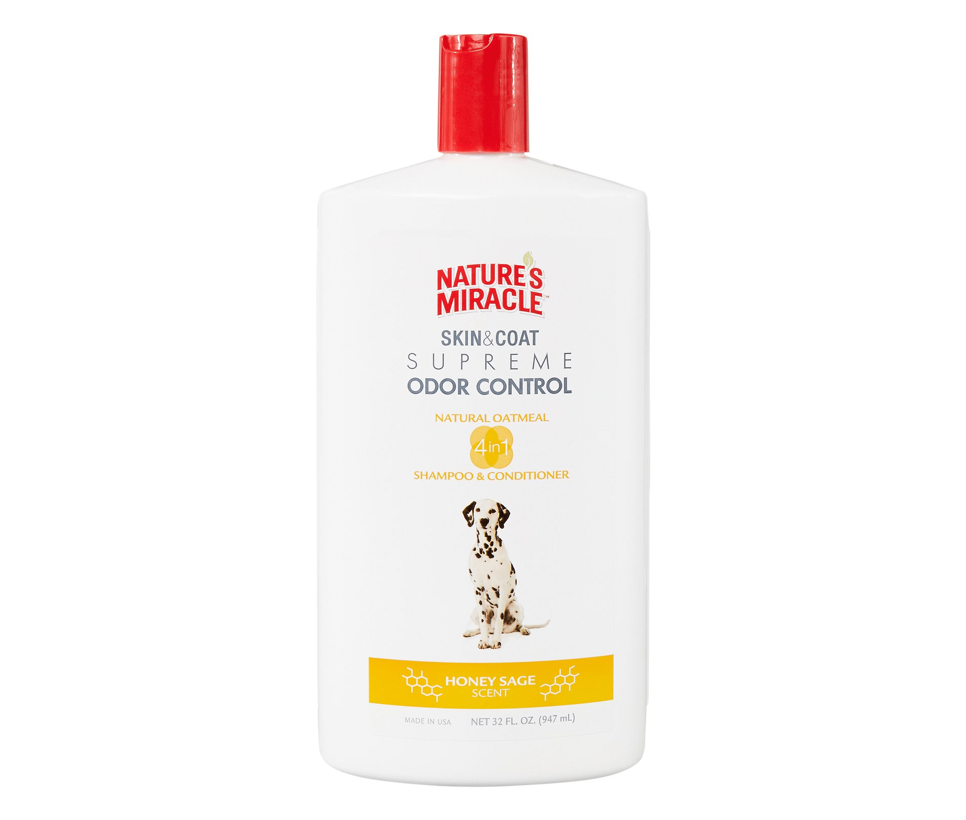 Nature's Miracle Supreme Odor Control Oatmeal Dog Shampoo and Conditioner