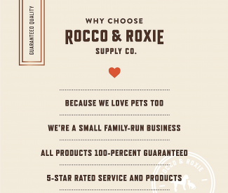rocco & roxie label