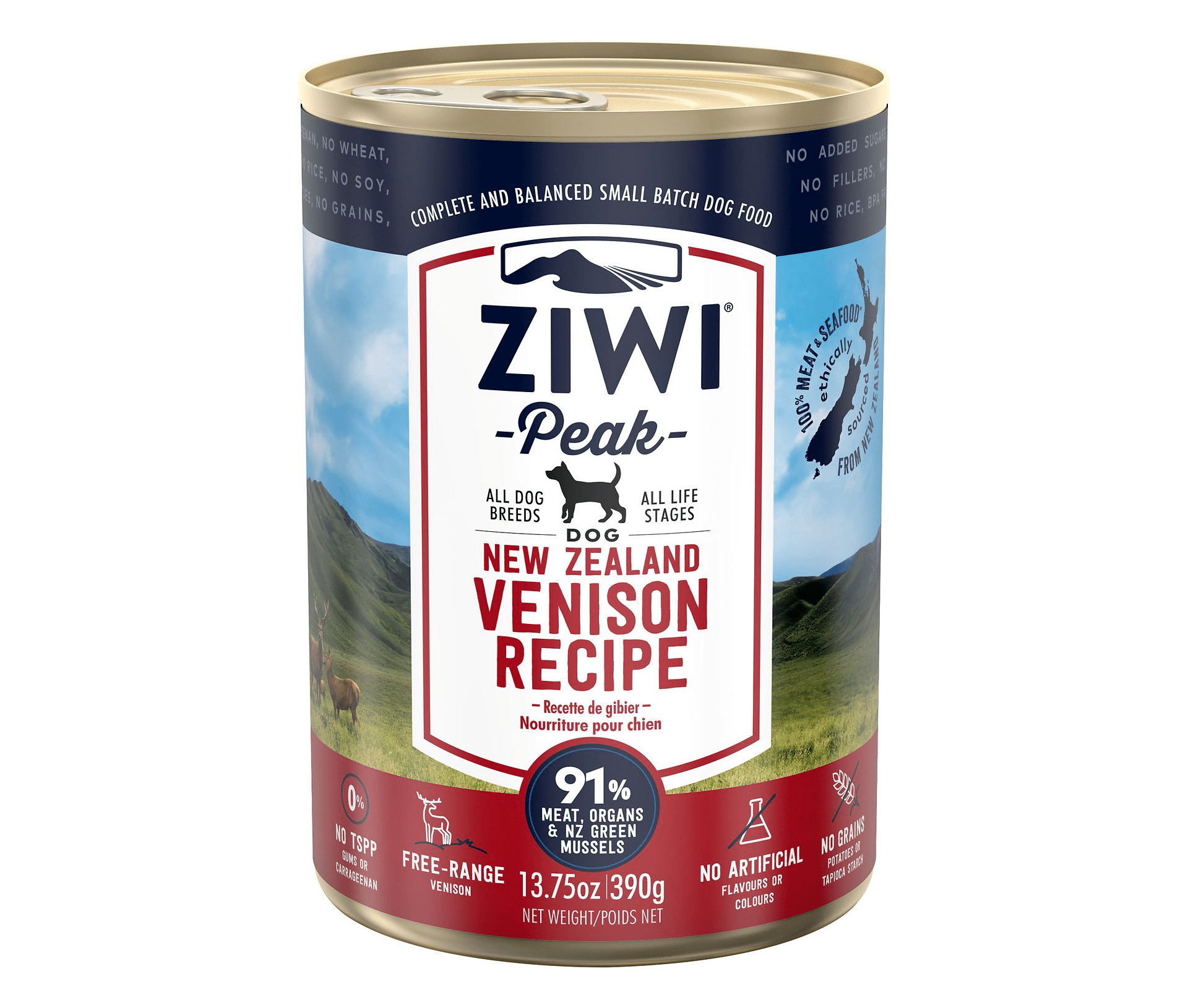 Ziwi Peak Venison Recipe Canned