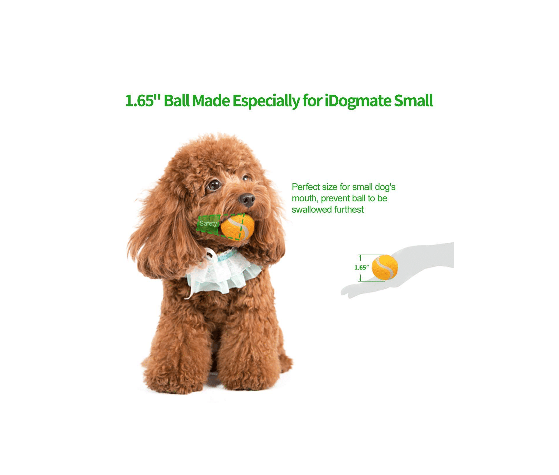 Idogmate Dog Ball Launcher for Small Dogs
