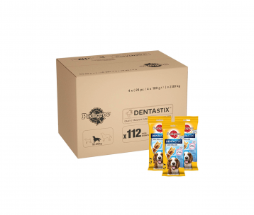 PEDIGREE Dentastix Dental Treats for Dogs, Chicken & Grain Free