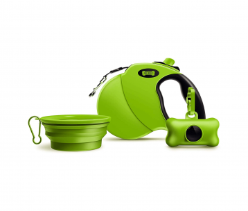 Ruff 'n Ruffus Retractable Dog Leash