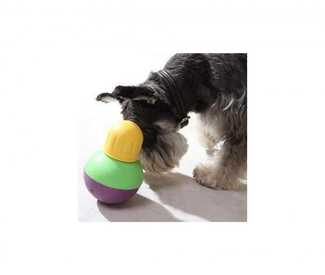 StarMark Bob-A-Lot Interactive Dog Toy
