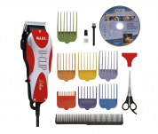 Wahl Professional Animal Deluxe U-Clip Pet Grooming Kit