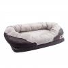 BarksBar Gray Orthopedic Bed