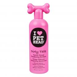 pet head dirty talk dog shampoo for odor control
